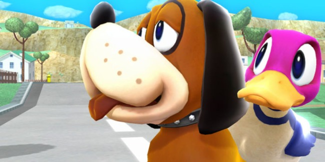 Super-Smash-Bros-Wii-U-3DS-Duck-Hunt-Dog-Trailer-2