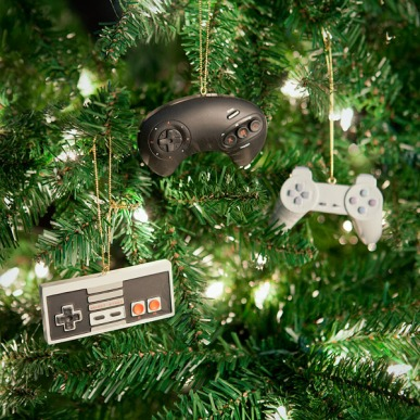 video_game_controller_ornaments_tree